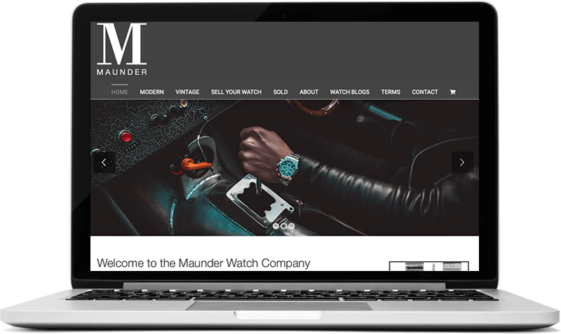 E-commerce Website for Watch Company