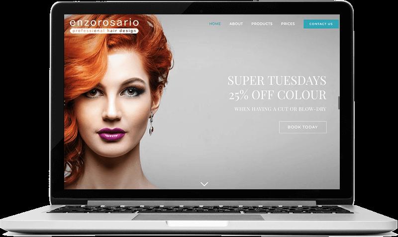 Hair Salon website Guildford