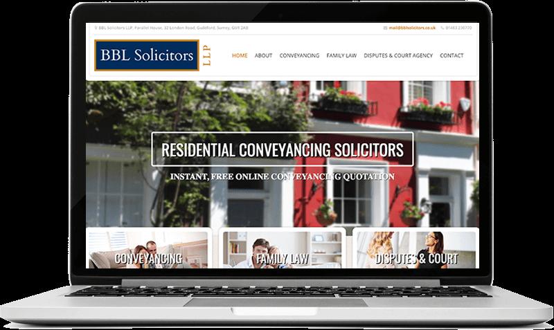 brochure website Guildford
